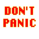 Don't Panic 42 Red