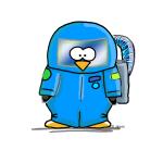 Deep Sea Diver Penguin