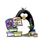 Scrapbook Penguin