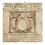 Vitruvian Penguin
