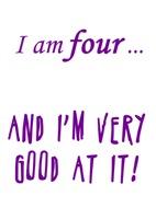 Good at four