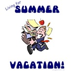 living for summer vacation