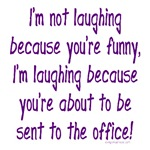 Going to the office funny