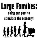 large families stimulate economy