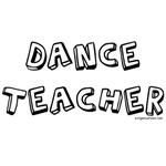 Dance teacher job pride