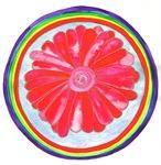 Root Chakra Flower Mandala