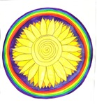 Solar Plexus Chakra Flower Mandala