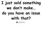 I just sold something