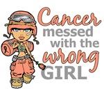 Combat Girl Uterine Cancer
