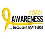 Awareness 2 COPD Shirts and Merchandise