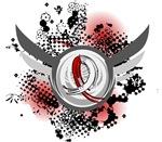 Grunge Ribbon and Wings MDS T-Shirts