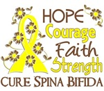 Hope Courage 3 Spina Bifida Apparel
