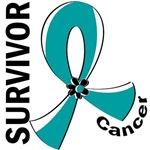Survivor 12 Cervical Cancer T-Shirts and Gifts