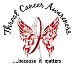 Butterfly 6.1 Throat Cancer Gifts