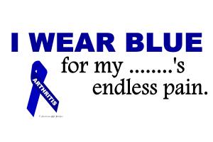 I Wear Blue ......