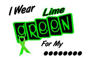 I Wear Lime Green Non-Hodgkins Lymphoma Apparel