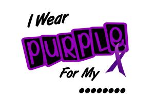 I Wear Purple For My .....8