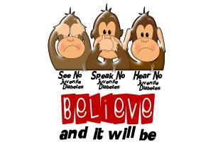 See Speak Hear No Juvenile Diabetes 3
