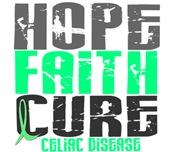 HOPE FAITH CURE Celiac Disease