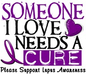 Needs A Cure LUPUS T-Shirts & Gifts