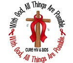 With God HIV AIDS T-Shirts & Gifts