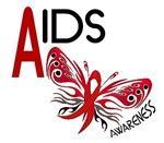 Butterfly Awareness AIDS T-Shirts & Apparel