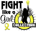 Licensed Endometriosis Fight Like A Girl Shirts Me