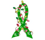 Christmas Lights Ribbon Cerebral Palsy Gifts