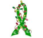 Christmas Lights Ribbon Enviromental Awareness Gif
