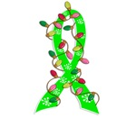 Christmas Lights Ribbon Muscular Dystrophy Gifts