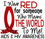 Means World To Me 1 AIDS Shirts