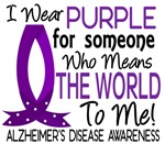Means World To Me 1 Alzheimer's Disease Shirts
