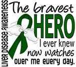 Bravest Hero I Knew Liver Disease Gifts