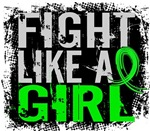 Licensed Fight Like a Girl 31.8 Lyme Disease Shirt