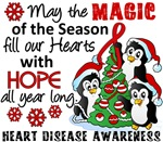 Heart Disease Christmas Cards and Gifts