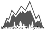 Mountains - Stickers & Flair