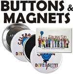 Diversity Buttons & Magnets