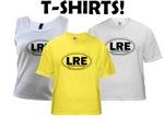 """Official """"Destination LRE"""" (TM) T-shirts"""