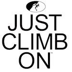 Just Climb On Logo - Female