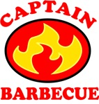 Captain Barbecue Superhero