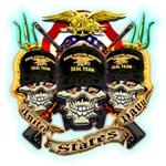 US Navy Seal Team Skulls