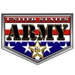 US Army RWB Shield
