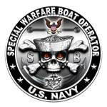 USN Special Warfare Boat Operator Skull SB