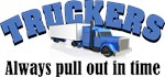 Truckers Pull Out in Time