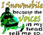 Voices in my head - snowmobile