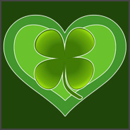 Irish Shamrock Heart St. Patrick's Day Love Shirt