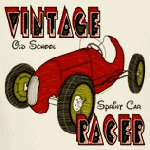 Sprint Car Vintage Racer