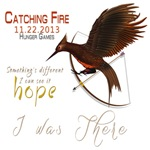 Catching Fire I was There Mockingjay
