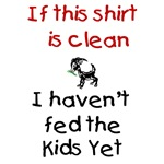 GOATS-Clean Shirt haven't fed