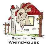 Goat in White House